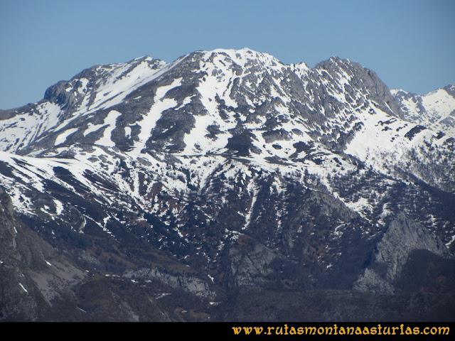 Ruta Belerda-Visu La Grande: Vista del Tiatordos