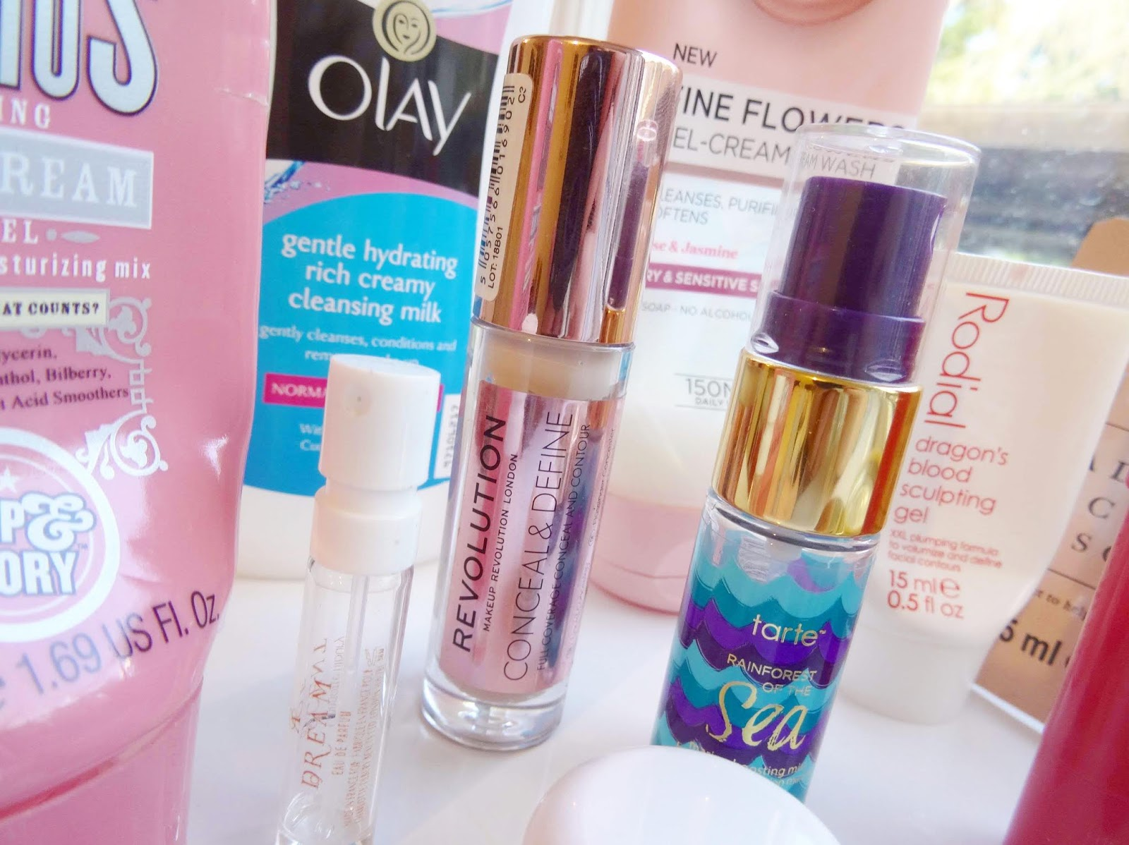 Makeup Revolution conceal and define concealer empties my thoughts