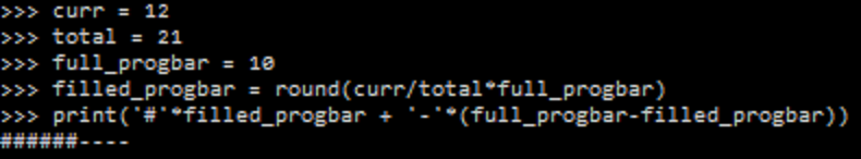 Geeky is Awesome: Python console progress bar (using \b and \r)