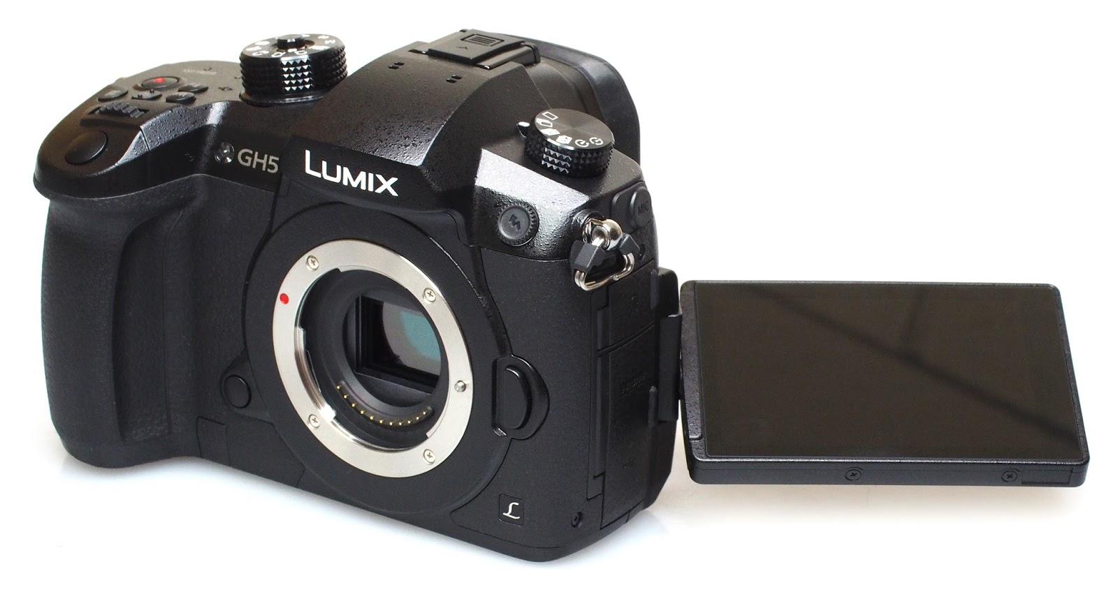 Поворотный экран Panasonic Lumix GH5
