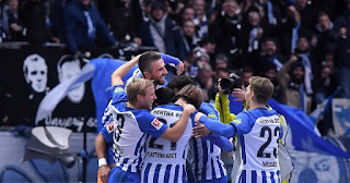 Hertha Berlin vs Mainz Live Streaming online Today 16.02.2018 Bundesliga