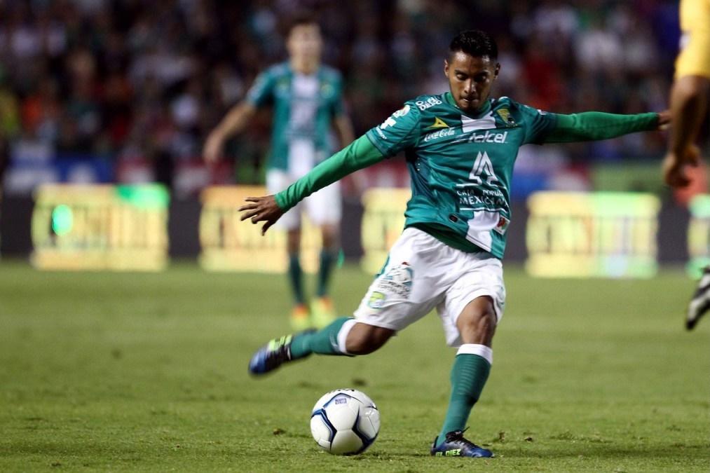 'Gallo' Vázquez, jugador del León.
