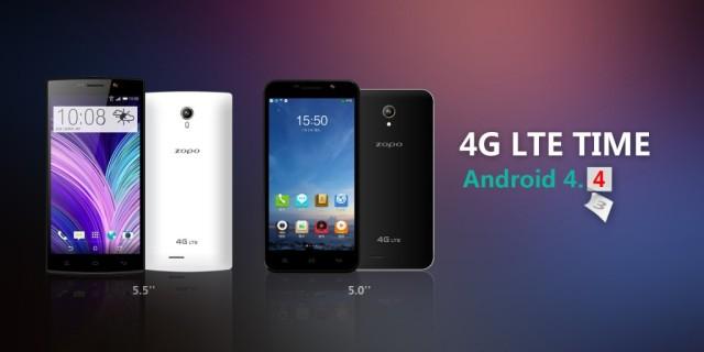 Zopo ZP320, Dual SIM Support 4G/LTE