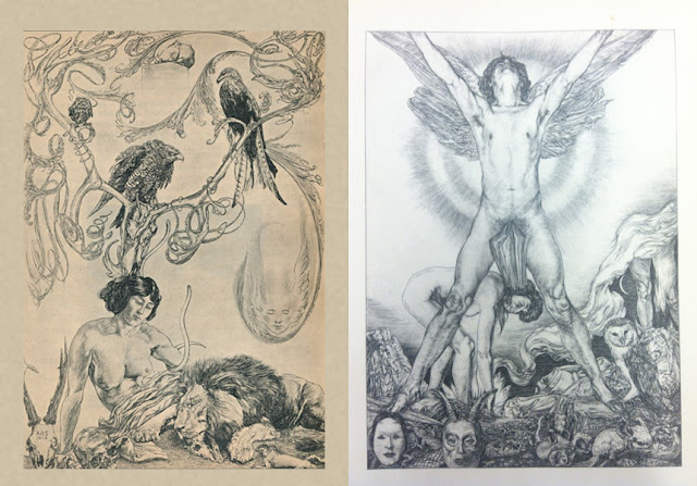 Austin Osman Spare, Arte, Art, Pintura, Draw