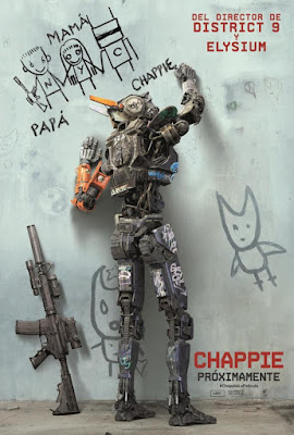 Chappie 2015 DVD R1 NTSC Latino