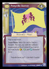 My Little Pony Ponyville Banner The Crystal Games CCG Card