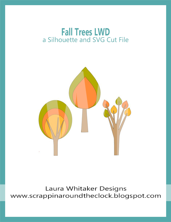 Fall Trees | Free Digital Cut File