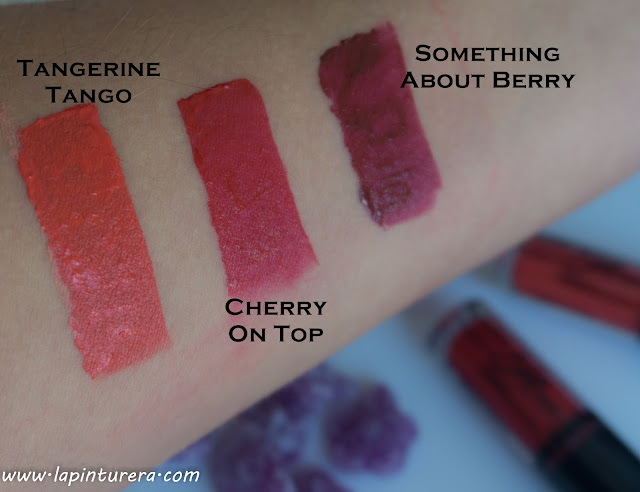 swatches rojos