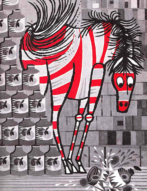 a Tom Vroman children's book illustration, 1964