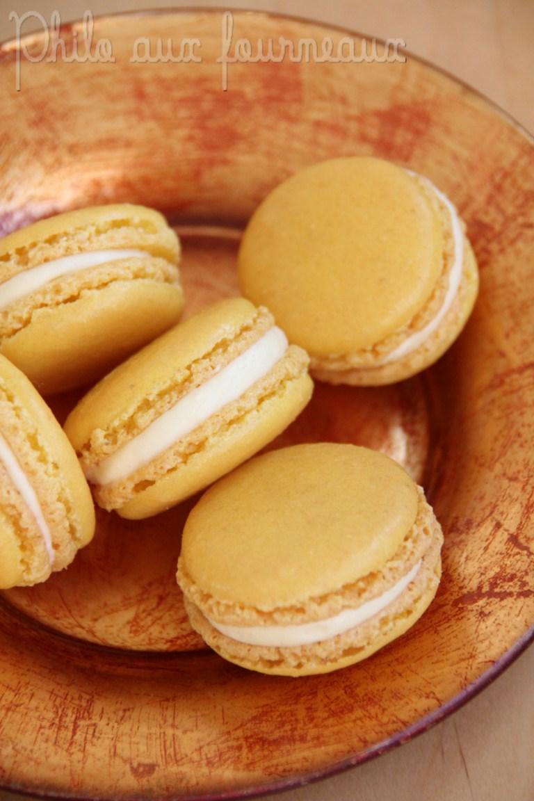 Philo Aux Fourneaux Macaron Ganache Montee A La Mangue