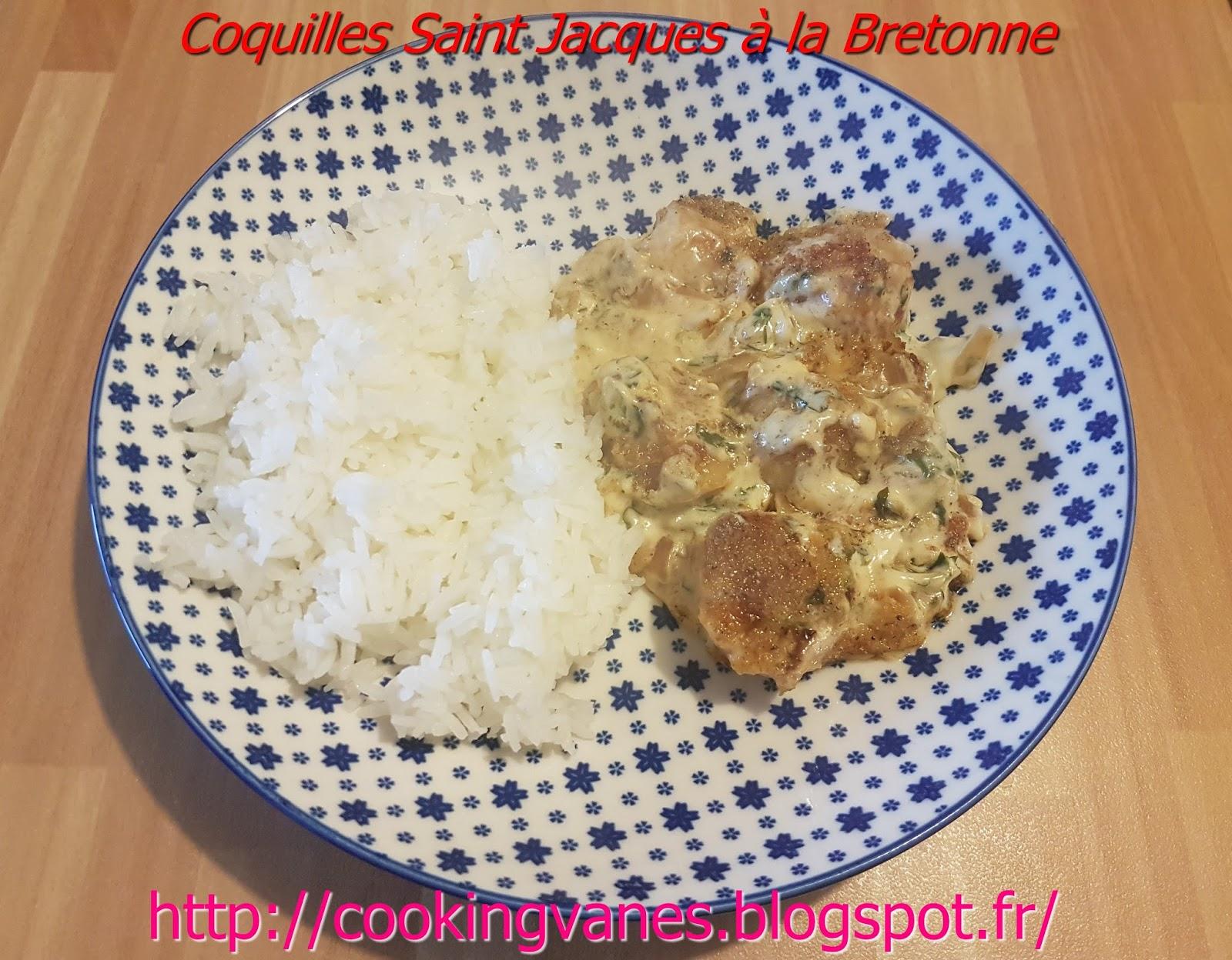 La cuisine de mimi coquilles saint jacques la bretonne - Coquille saint jacques bretonne ...