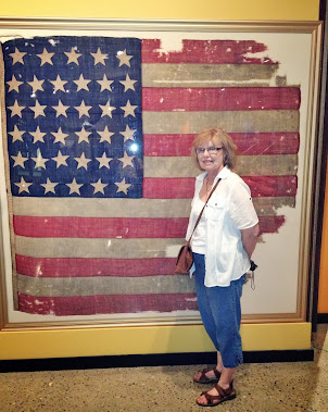 34 Star American Flag at Ohio Historical Museum