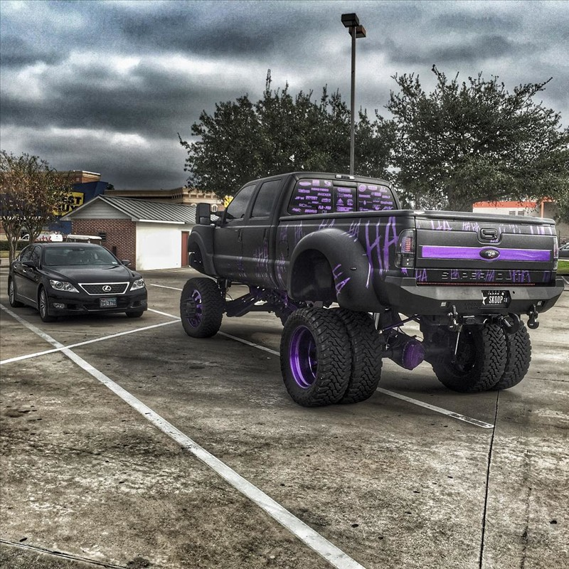 Joker Ford super Duty f-350 Platinum 5