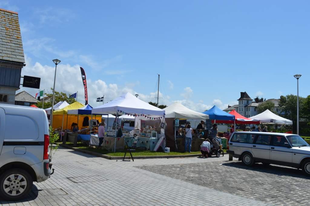 Bude farmers market