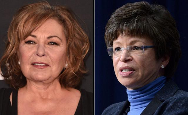Valerie Jarrett addresses Roseanne Barr's racist tweets in MSNBC town hall