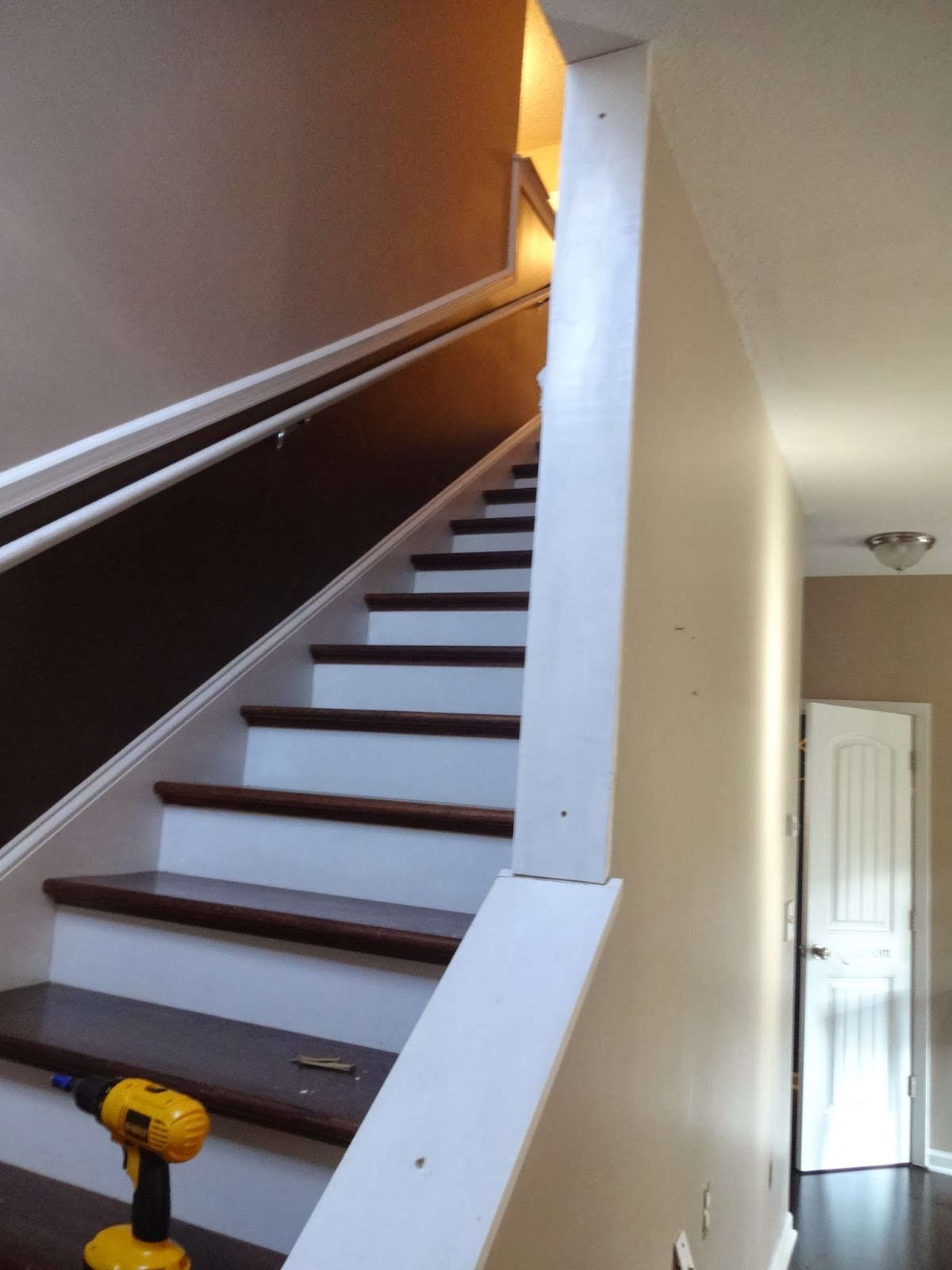 Opening Up The Doors: Opening Up The Stairwell
