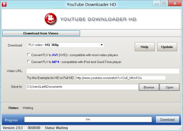 تحميل برنامج تحميل الفيديو من اليوتيوب