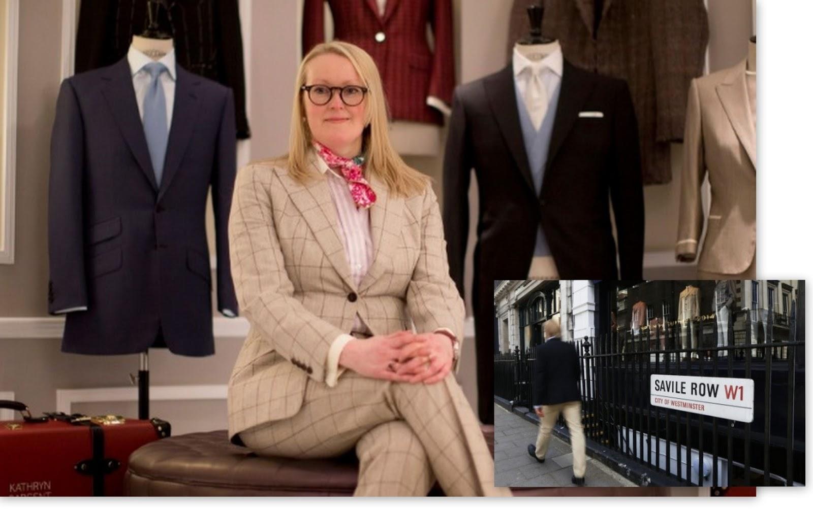 E já que estamos falando em padrão, fechamos a Drops de hoje com mais uma  boa notícia  a rua mais tradicional da moda em Londres, a Saville Row,  terá, ... ce8c9f349e