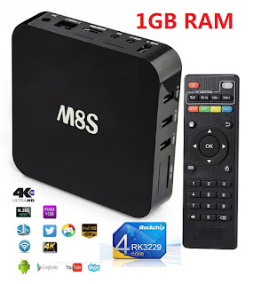 TV BOX ANDROID M8S 4K