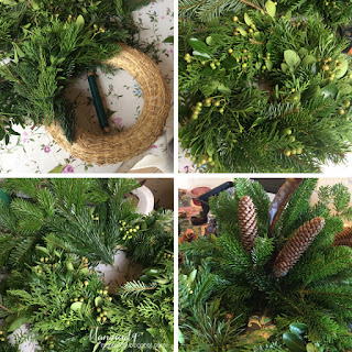 All Saints Wreath - DIY tutorial pictures