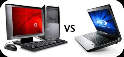 pilih laptop atau komputer