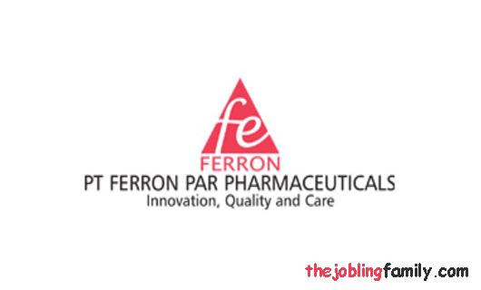 Loker Operator Terbaru PT. Ferron Par Pharmaceuticals Bulan Januari 2019