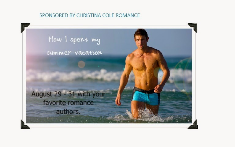 http://christinacoleromance.com/2014/08/29/how-did-you-spend-your-summer-vacation/
