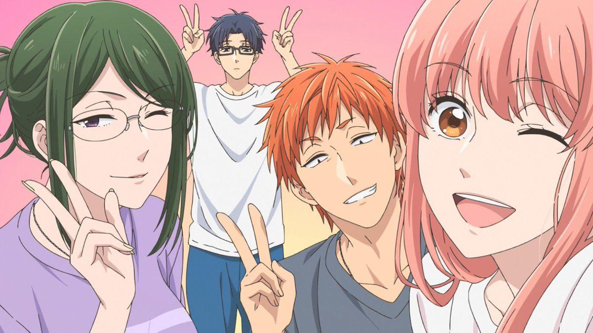 6 Anime yang Mirip Wotaku ni Koi wa Muzukashii