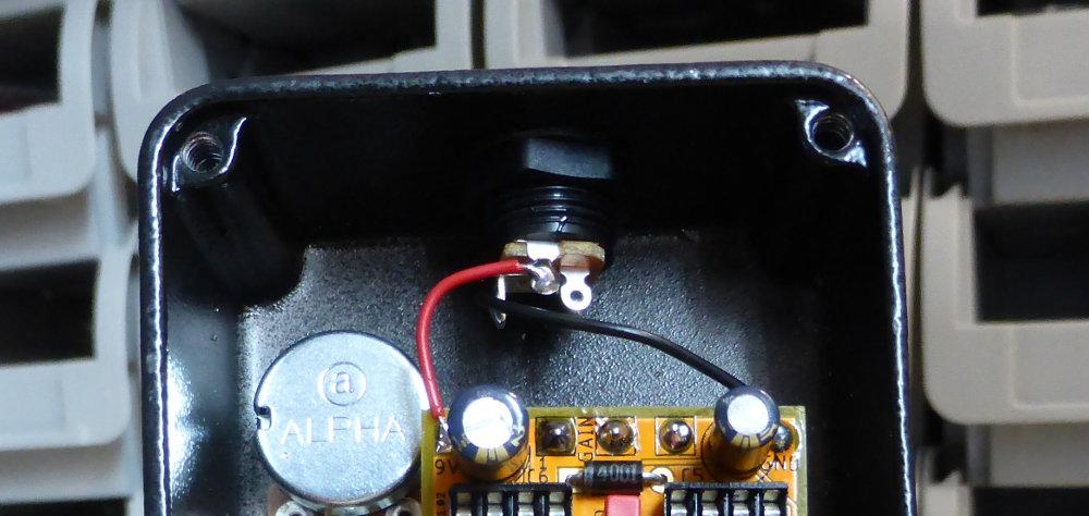 DC jack wiring