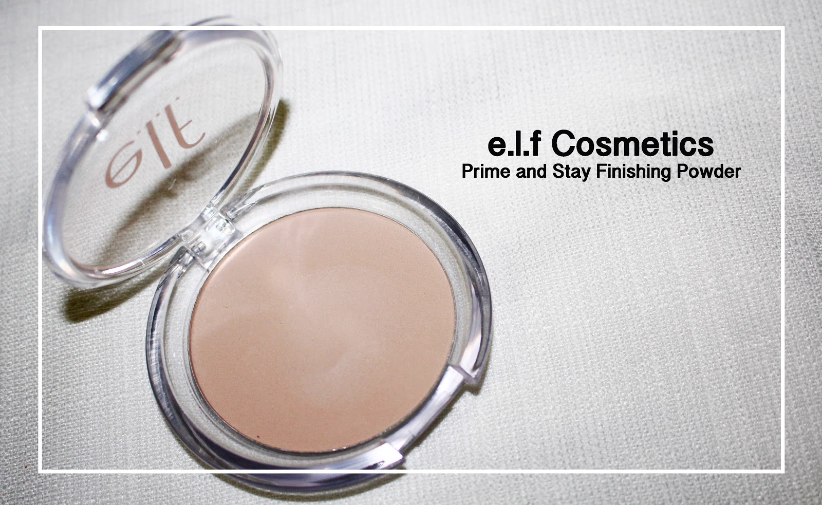 Prime & Stay Finishing Powder by e.l.f. #15