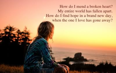 How to mend a broken heart quotes