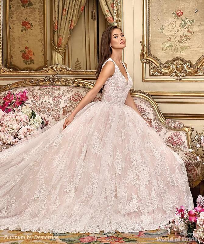 Platinum Wedding Gown: Platinum By Demetrios 2018 Wedding Dresses