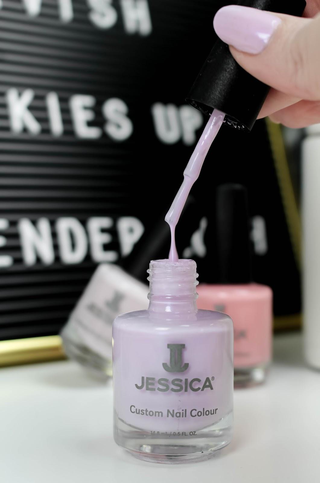 Jessica Nails SS18 La Vie en Rose Lavender Lush