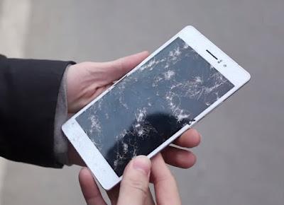 kính điện thoại oppo r5 bị vỡ