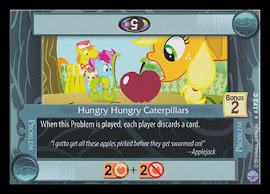 My Little Pony Hungry Hungry Caterpillars Premiere CCG Card