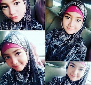 Jihan Audy Kerudung Cantik