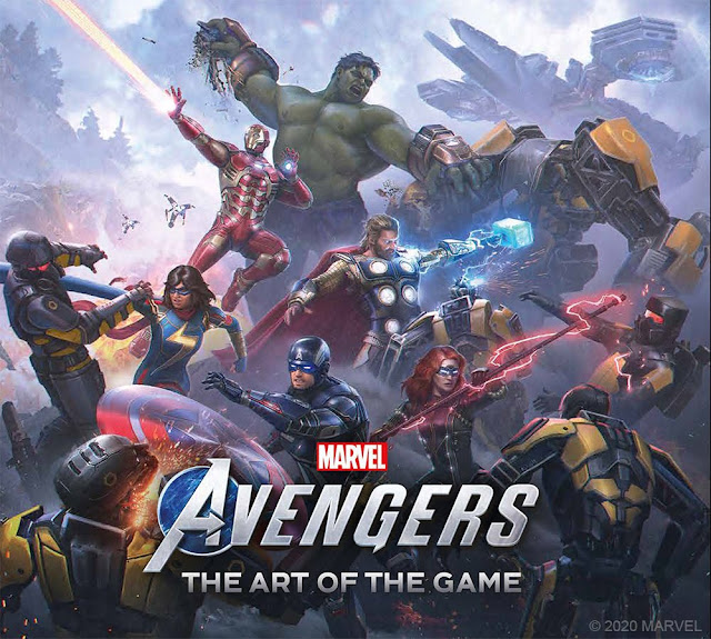 Marvel's Avengers The Art of the Game Beta and Second War Table Livestream Information