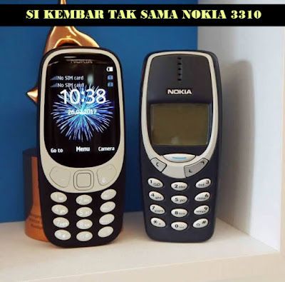 NOKIA 3310 android vs 3310 jadul