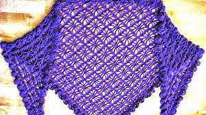3 patrones de chales crochet