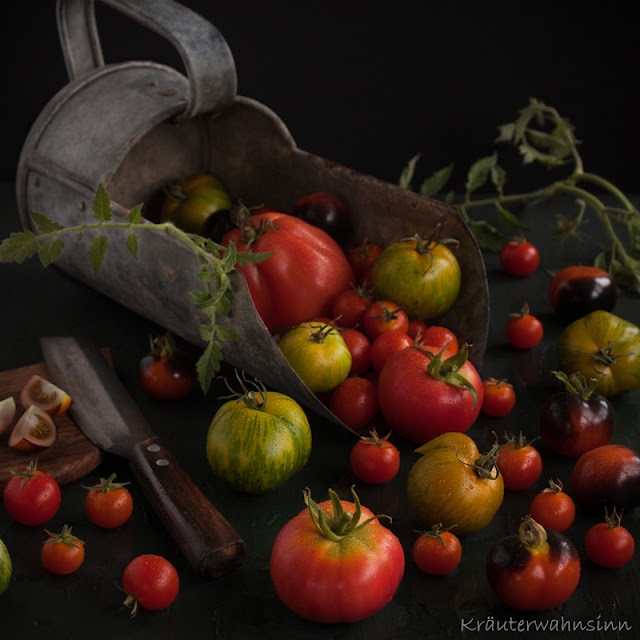 Tomatenernte von Kräuterwahnsinn