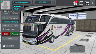 Riview Livery Bus BUSSID Golden Ratio