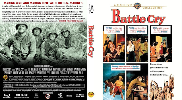 Battle Cry Bluray Cover