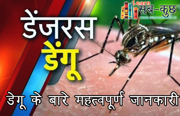 Important information about dengue