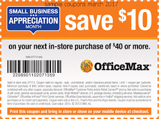 Office Max coupons for march 2017