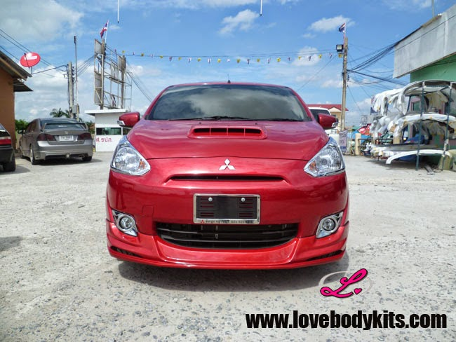 Body Kit Evo Sport - Mitsubishi Mirage depan