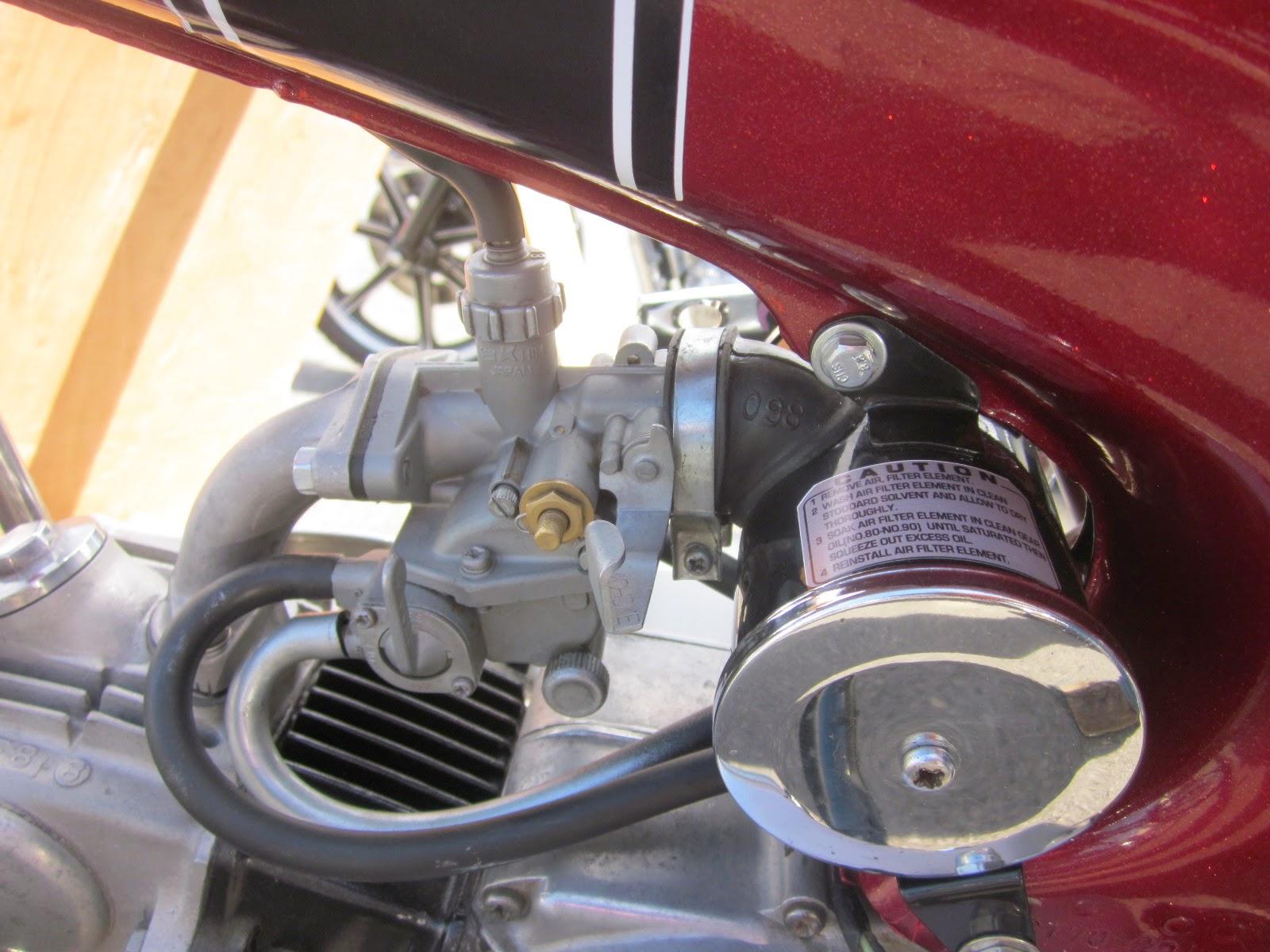 Oldmotodude 1972 Honda Ct70 On Display At The 2014 Retro Riders 1970 Engine Vintage Motorcycle Show Pasco Wa