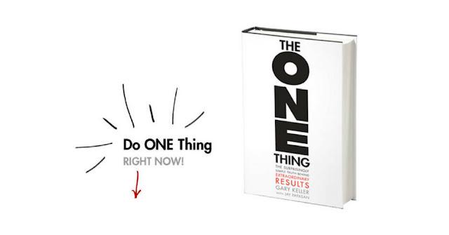 Огляд книги Гері Келлера The ONE Thing за рекомендацією Насті Кей