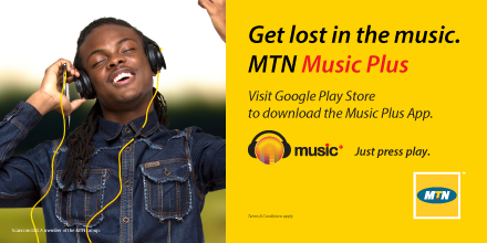 Mtn Ghana Music+ Streaming and Music on Demand  ~ GHANA