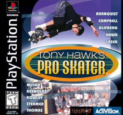 Download Game Tony Hawks Pro Skater  PS1 ISO Ukuran Kecil