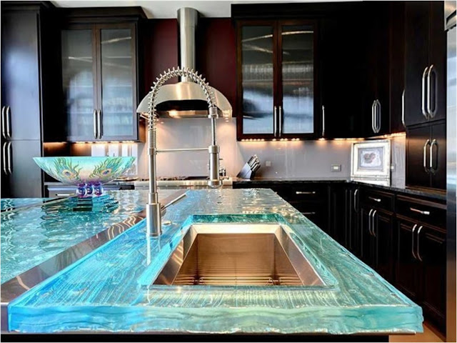 Glass Kitchen Countertops: Expert Opinion